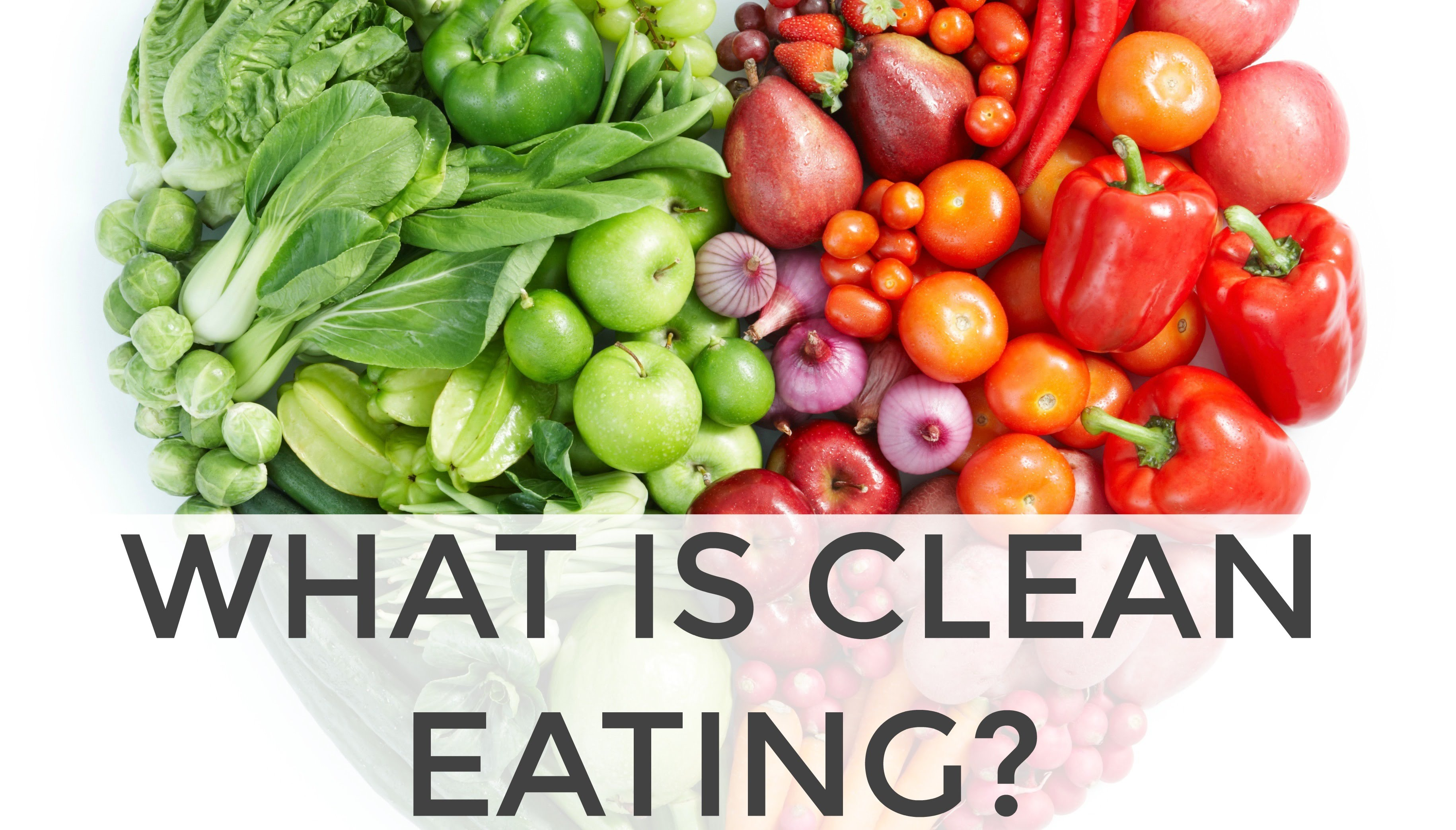 What is Clean Eating with 5 Simple Guidelines