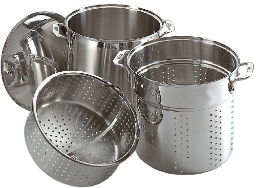 All-Clad E796S364 Specialty Stainless Steel Dishwa...