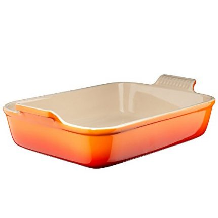 Le Creuset Heritage Stoneware 7-by-5-Inch Rectangu...