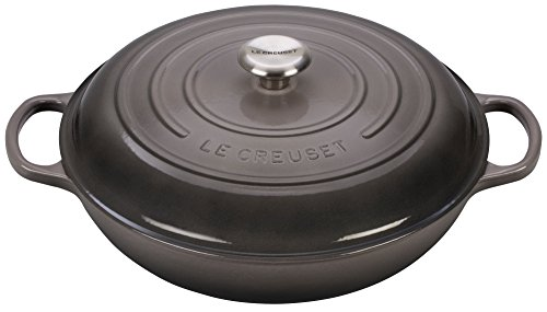 Le Creuset Signature Enameled Cast-Iron 5-Quart Ro...